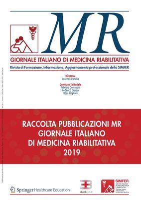 MR GIORNALE ITALIANO DI MEDICINA RIABILITATIVA - 2019